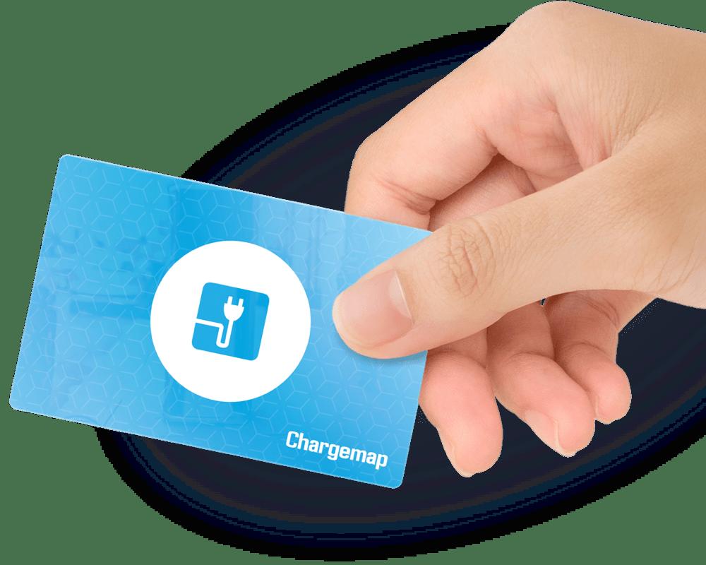 Le premier badge multi-réseaux qui recharge votre véhicule électrique sur les meilleurs réseaux <b>avec une électricité verte d'origine garantie</b>.